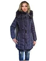 Зимнее пальто с манжетом
