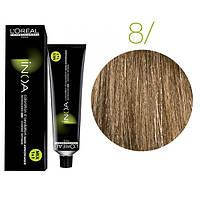 Краска для волос INOA-mix L'Oreal Pro 60 g 8 Светлый блондин