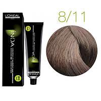 Краска для волос INOA-mix L'Oreal Pro 60 g 8.11 Светлый блондин интенсивный пепельный