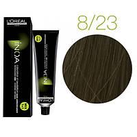Краска для волос INOA-mix L'Oreal Pro 60 g 8.23 Светлый блондин перламутровый золотистый