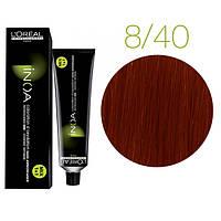 Краска для волос INOA-mix L'Oreal Pro 60 g  8.40 Светлый блондин медный глубокий