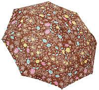 Модный женский зонт 209 s brown