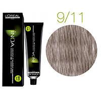 Краска для волос INOA-mix L'Oreal Pro 60 g 9.11 Очень светлый блондин пепельный интенсивный