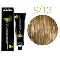 Краска для волос INOA-mix L'Oreal Pro 60 g 9.13 Очень светлый блондин пепельный золотистый