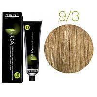 Краска для волос INOA-mix L'Oreal Pro 60 g 9.3 Очень светлый блондин золотистый