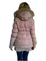 Куртка удлиненная с манжетом, фото 3