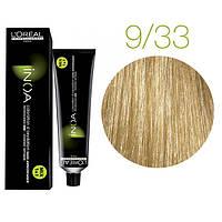 Краска для волос INOA-mix L'Oreal Pro 60 g 9.33 Очень светлый блондин золотистый экстра