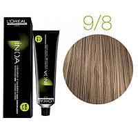 Краска для волос INOA-mix L'Oreal Pro 60 g 9.8 Очень светлый блондин мокка