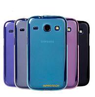 Чехол-Накладка Silicon Case для Samsung i8260 Galaxy Core, i8262 Galaxy Core Blue