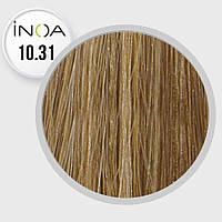 Краска для волос INOA-mix L'Oreal Pro 60 g 10.31 очень очень светлый блондин золотисто-пепельный