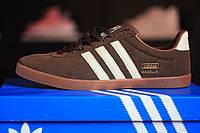 Adidas Gazelle brown замшевые кроссовки адидас газель