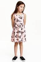 Брендовый летний сарафан для девочки H&M р.110-140 (5021)