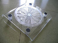 Охлаждающая прозрачная подставка для ноутбука Windcooler