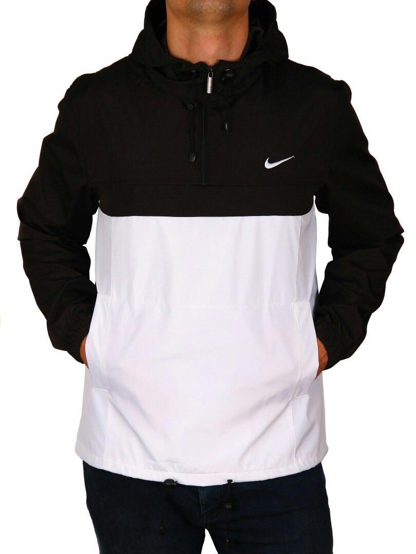 Анорак Nike ( Black - White  )