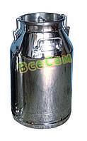 Бидон для молока, 30 л., нержавеющая сталь