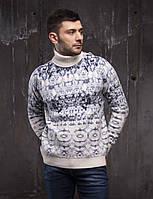 Модный мужской свитер из шерсти Pulltonic