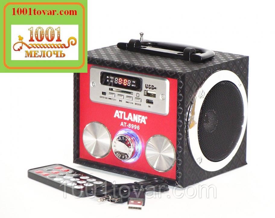 Портативная акустическая колонка Atlanfa AT-8996