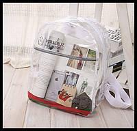 """Прозрачный силиконовый рюкзак """"Veracruz"""". Креативный рюкзак. Удобный, вместительный рюкзак. Код: КБН88"""