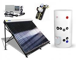 Всесезонные вакуумные солнечные коллекторы гелиосистемы