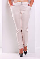 Женские молодежные светлые брюки Хилори, фото 2