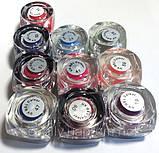 Цветной Уф Гель для дизайна и покрытия ногтей, Сливово-Коричневый, 8 мл., фото 2