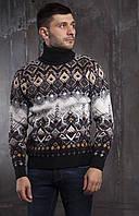 Супер теплый мужской свитер турецкого производства
