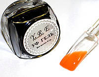 Цветной Уф Гель для дизайна и покрытия ногтей, ТЕРРАКОТОВЫЙ, 8 мл., фото 1