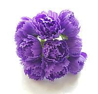 Цветы Пионы Фиолетовые 2.5 см диаметр 10 шт/уп