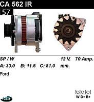 Генератор  Ford Scorpio Sierra 70Amp.CA562IR