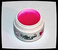 Гель для дизайна и покрытия ногтей, цвет ФУКСИЯ, 7 мл