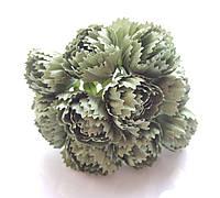 Цветы Пионы Оливковые 2.5 см диаметр 10 шт/уп