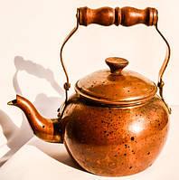 Антикварный чайник,заварник! Portugal. Медь,750 мл