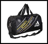 """Спортивная сумка бочка """"Sport"""". Сумка для тренировок. Дорожная сумка. Нейлоновая сумка для зала. Код: КБН89"""