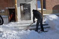 Ручная уборка снега, фото 1