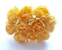 Цветы Пионы Желтые 2.5 см диаметр 10 шт/уп