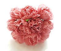 Цветы Пионы Коралловые 2.5 см диаметр 10 шт/уп
