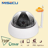 IP камера MISECU  ONVIF 2.0  720 P 1Mp HD P2P  Wi-Fi  1280*720 P