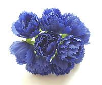 Цветы Пионы Синие 2.5 см диаметр 10 шт/уп