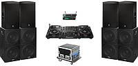 Аренда звукового оборудования:комплект DJ CLUB 10000W