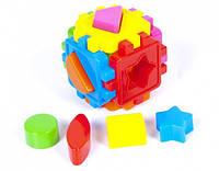 Логический куб-сортер с геометрическими фигурами 50-101