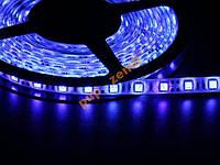Светодиодная лента Синий SMD5050 60д/м влагозащищенная IP65 1м