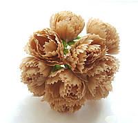 Цветы Пионы Песочные 2.5 см диаметр 10 шт/уп