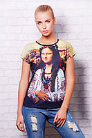 футболка GLEM Джоконда футболка Кимоно