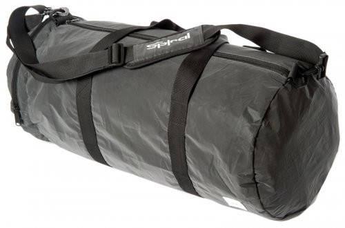 Прочная дорожная сумка 30 л. Duffel Spiral 7104 серый