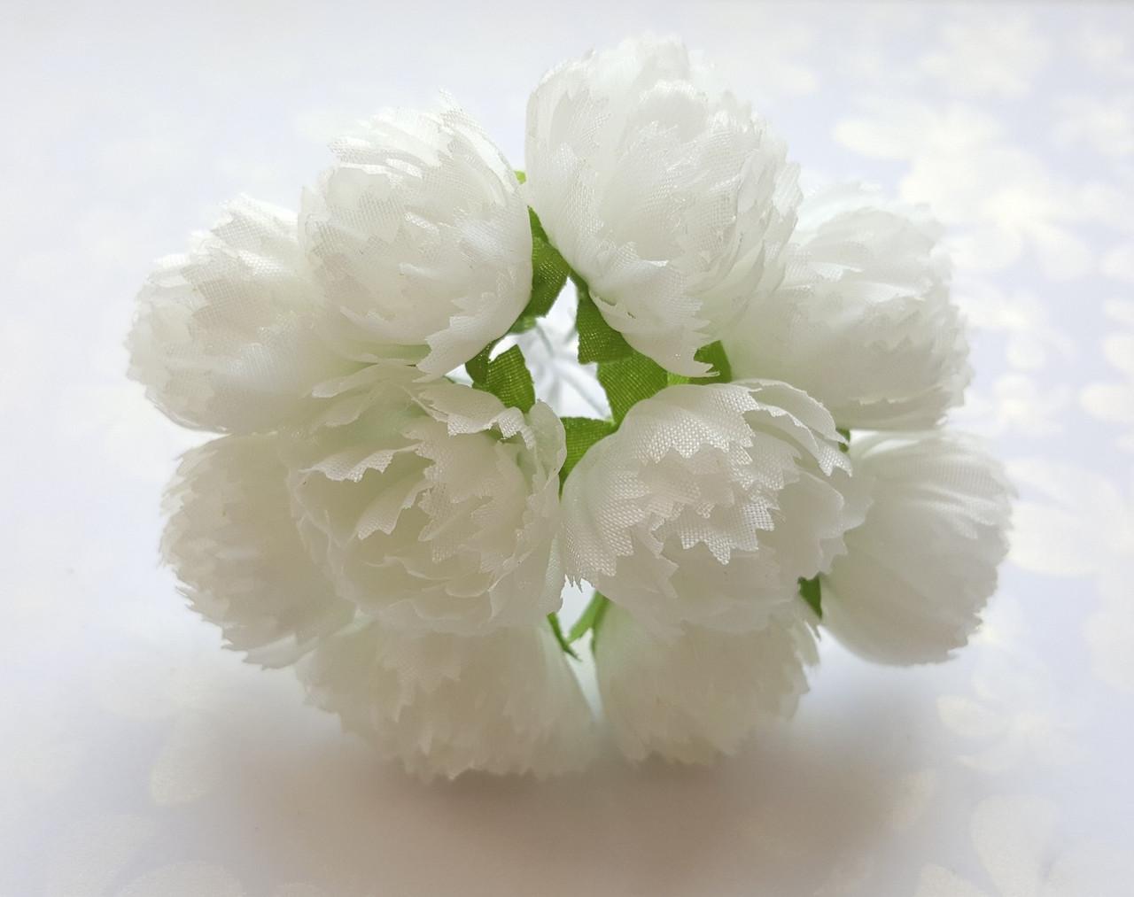 Цветы Пионы Молочные 2.5 см диаметр 10 шт/уп, фото 1