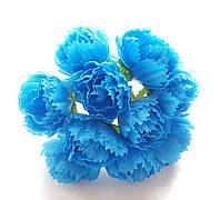 Цветы Пионы Голубые 2.5 см диаметр 10 шт/уп