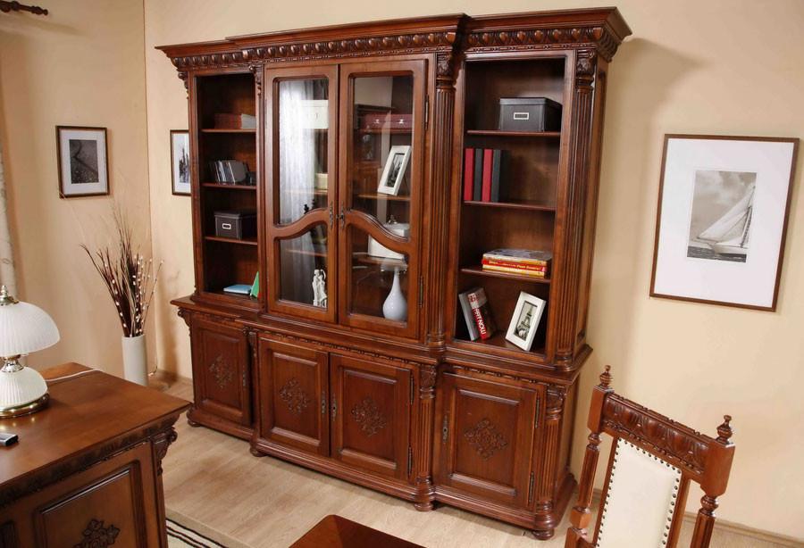 Книжный шкаф 2дв Venetia Lux Simex
