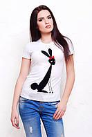 футболка GLEM Зайцы Футболка-2В