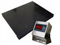 Весы платформенные четырехдатчиковые Зевс ВПЕ500-4(H1010) (1000х1000) Эконом