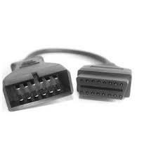 OBD2 переходник на OBD2 16 на GM 12 pin